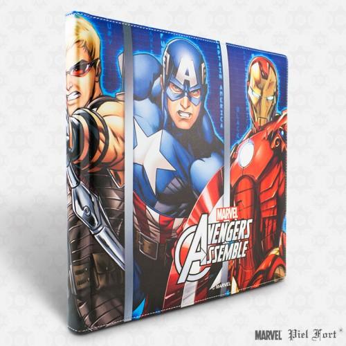 Álbumes de fotos Marvel, consigue a los Vengadores de la mano de Pielfort