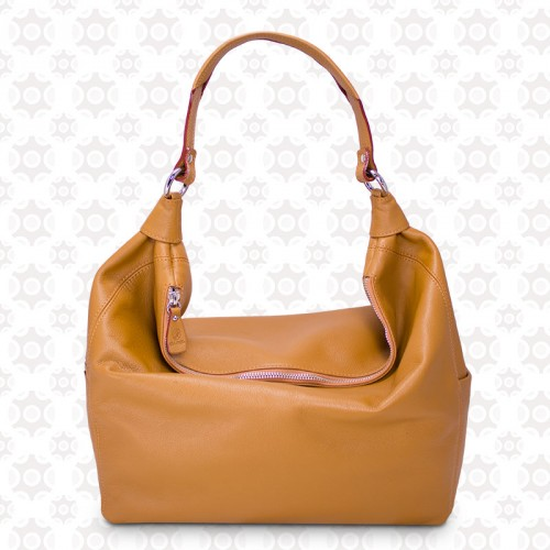 Bolso Hobo color cuero