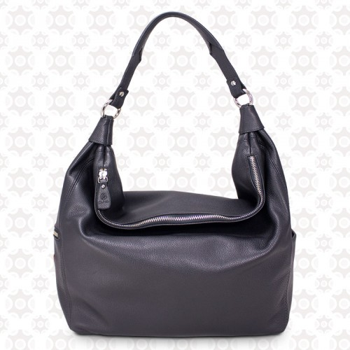 Bolso Hobo color negro