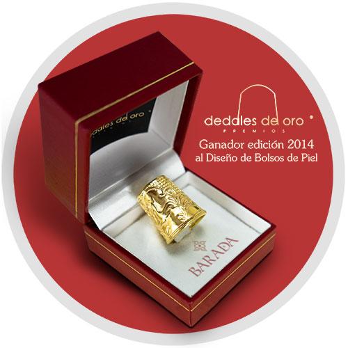 Dedal de Oro 2014 al diseño para la firma de bolsos de lujo Barada