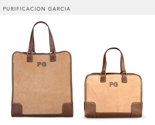Purificación García, bolsos pequeños.